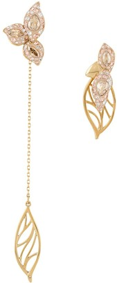 Swarovski Graceful Bloom Mismatched earrings
