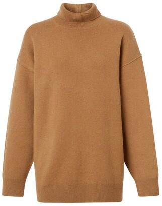 Burberry drop-shoulder knitted jumper