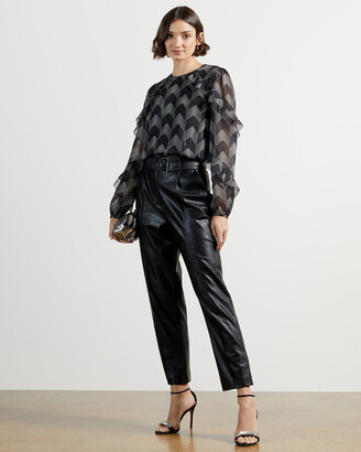 Ted Baker MOWENNA Ruffle sleeve blouse