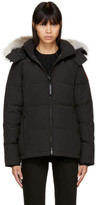 Canada Goose Black Down Chelsea Parka