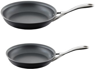 Baccarat iD3 Hard Anodised Frypan Twin Pack 20cm & 26cm