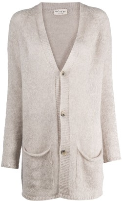 Ma Ry Ya Long-Line Pouch Pocket Cardigan