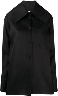 Nina Ricci Oversized Collar Shirt