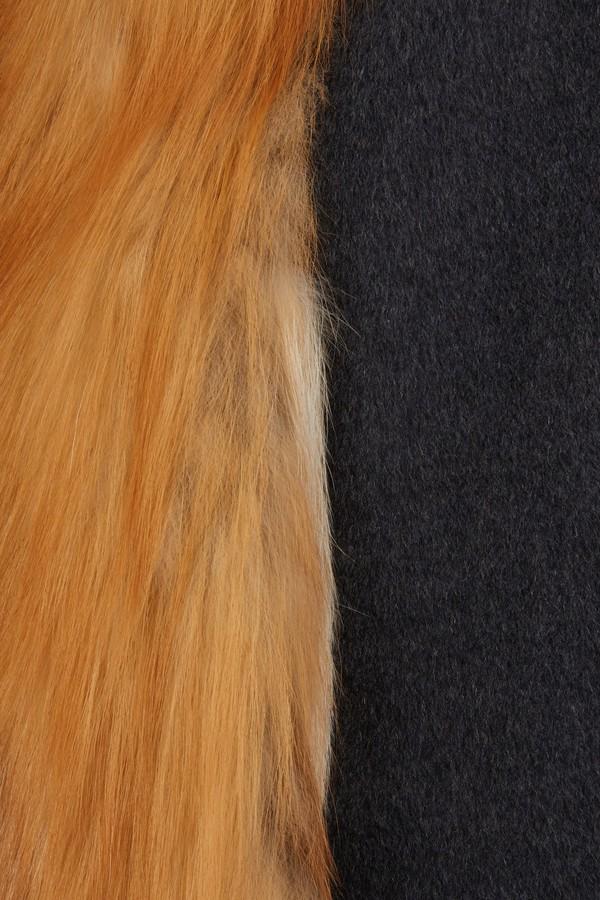 Yves Salomon Sleeveless fur coat