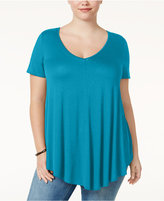 Soprano Trendy Plus Size Swing T-Shirt