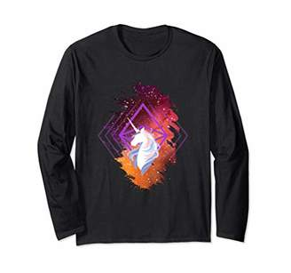 ETH Deep Space Unicorn Long Sleeve Shirt - Support Ether