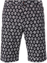Pt01 printed shorts - men - Cotton/Spandex/Elastane - 46