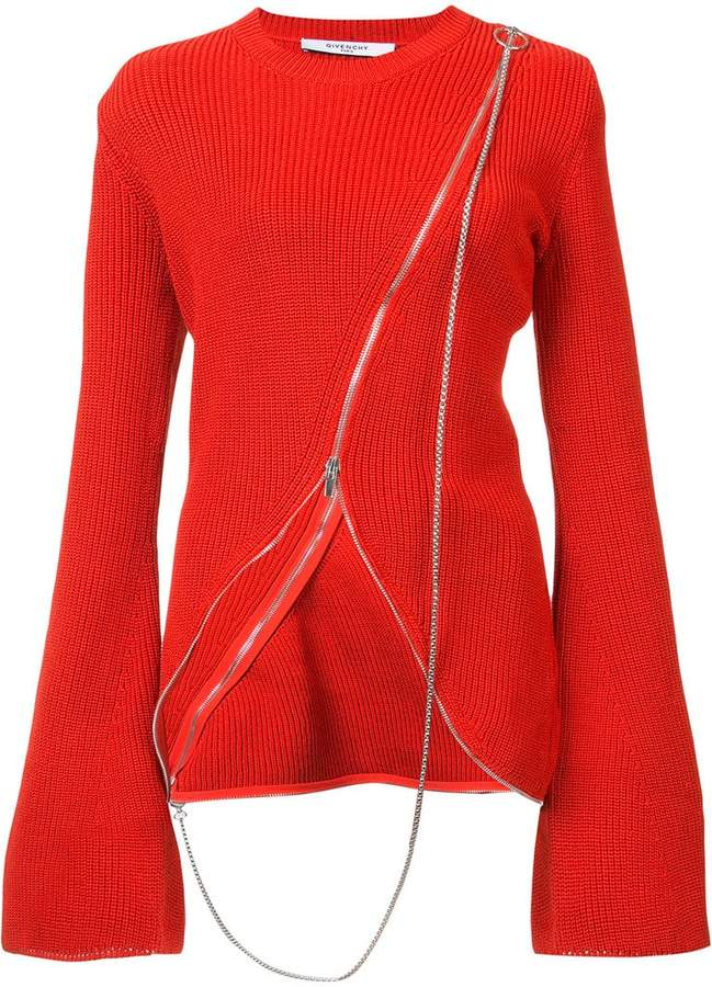 Givenchy asymmetric sweater