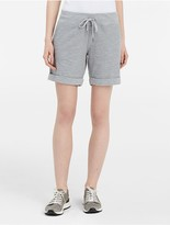 Calvin Klein Performance Slub Cuffed Shorts
