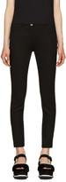 Miu Miu Black Slim Cropped Trousers