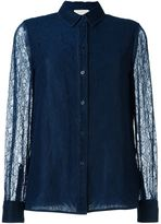Tory Burch lace shirt - women - Polyamide/Polyester - 6
