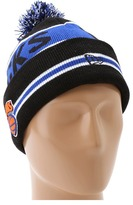 New Era New York Knicks Coach Knit Hat (Blue/Orange) - Hats