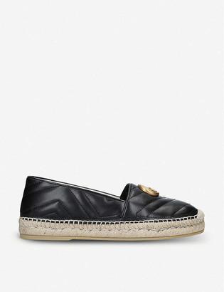 Gucci Pilar leather espadrilles
