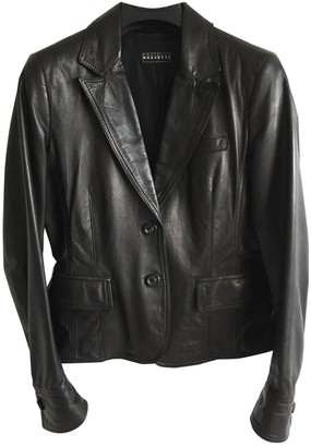 Fratelli Rossetti Black Leather Leather jackets