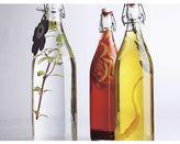 Crate & Barrel Airtight Glass Bottle