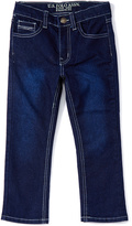 U.S. Polo Assn. Dark Crinkle Five-Pocket Flex Jeans - Boys