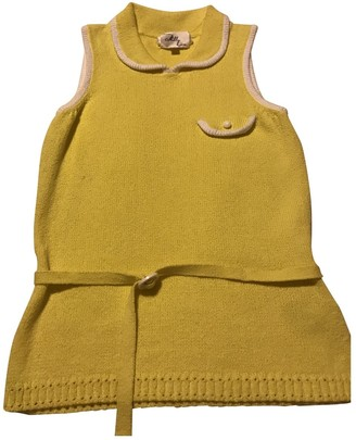 Milly \N Yellow Cotton Top for Women