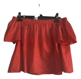 Tara Jarmon Red Polyester Tops