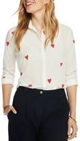 Scotch & Soda Textured Heart Print Shirt