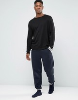 Asos Skinny Jogger With Chillin Print Taping