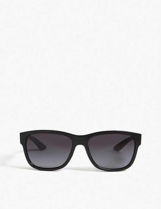 Prada Linea Rossa Square frame sunglasses
