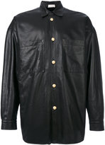 Faith Connexion lamb skin button jacket - men - Lamb Skin/Acrylic/Polyester/Viscose - M