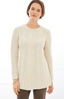 J. Jill Aileen Cable Pullover