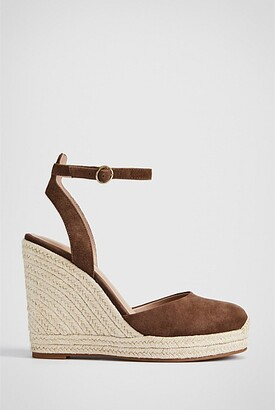 Witchery Jillian Suede Wedge