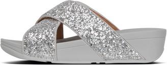 FitFlop Lulu Glitter Cross Slides