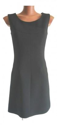 Dolce & Gabbana Black Wool Dresses