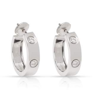 Cartier Love Silver White gold Earrings
