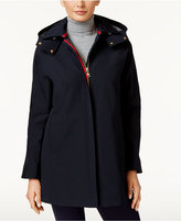 Vince Camuto Hooded Raincoat