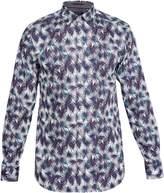 Ted Baker Men's Karaf Palm Tree Print Cotton Shirt