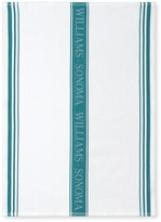 Williams-Sonoma Williams Sonoma Logo Towels, Set of 4, Aqua