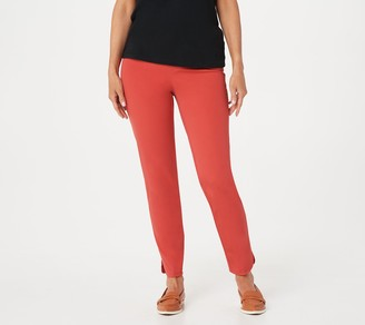 Isaac Mizrahi Live! Regular 24/7 Stretch Solid or Print Ankle Pants