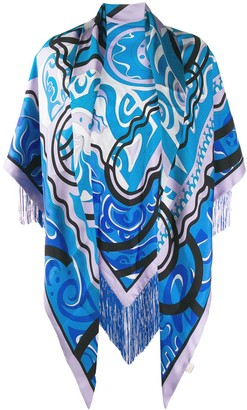 Emilio Pucci Abstract Print Shawl
