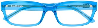 Balenciaga Eyewear rectangular frame glasses