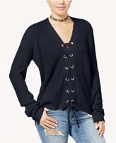 Polly & Esther Juniors' Lace-Up Cardigan