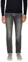 Z Zegna Solid Cotton Jeans