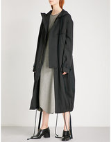 Song For The Mute Ooft carbon and cotton-blend parka coat