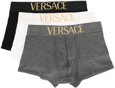 Versace pack of three logo boxers