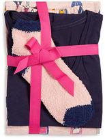 Hue Champagne Bottle Pajama Top, Pants and Socks Set