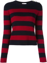 RED Valentino striped jumper - women - Virgin Wool - M