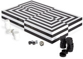 Jonathan Adler Optical Illusion Art Backgammon Set