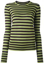Rochas striped knitted top