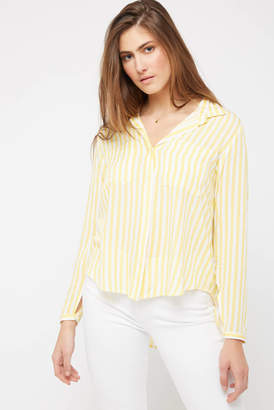 Velvet Heart James Stripe Shirt Yellow M