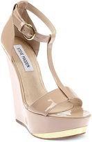 Xtrime T-Strap Platform Wedge Sandals