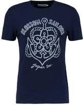 Celio Geanchor Print Tshirt Indigo