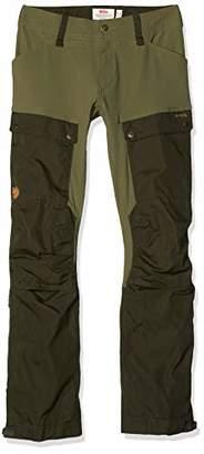Fjallraven Women's Keb Trousers Curved W, Black/Stone Grey