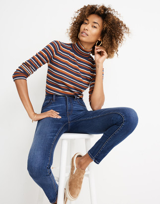 """Madewell 10"""" High-Rise Skinny Jeans in Tarren Wash: THERMOLITE Edition"""